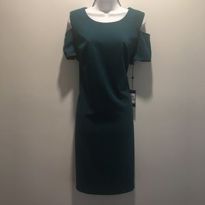 Tommy Hilfiger emerald green dress